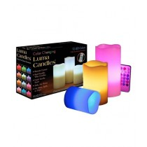 Cool Boy Mart Luma Color Changing Candles With Remote