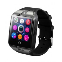 Cool Boy Mart Sports Bluetooth Smartwatch Black (Q18)