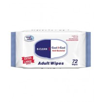 Cool & Cool Adult Wipes 72 Pcs (A731C)