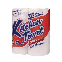 Cool & Cool Embossed Kitchen Towel Roll 111's (K550)
