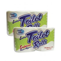 Cool & Cool Luxury Toilet Roll White (T1873)