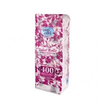 Cool & Cool Printed Embossed Toilet Roll 400's (T1864)