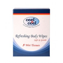Cool & Cool Refreshing Body Wipes 5 Pcs (R1232)