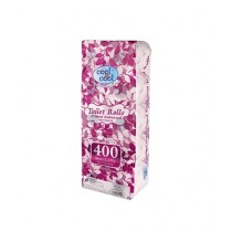 Cool & Cool Toilet Roll Printed Embossed 1x4x400's (T1863)
