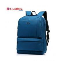 "CoolBell 15.6"" Topload Laptop Bag Blue (CB-3136)"