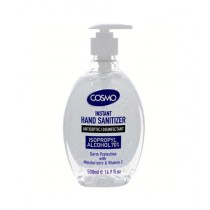 Cosmo Instant Hand Sanitizer 500ml (70% Alcohol ISO Certified)