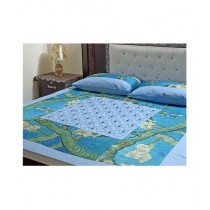 Marai's Collection King Size Cotton BedSheet (3 Pieces)