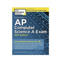 Cracking the AP Computer Science A Exam Book 2017 Edition