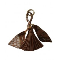 FS Couture Silk Leather Braid Key Chain