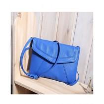 Cucoon PU Handbag For Women Blue