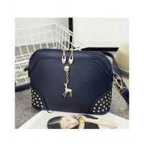 Cucoon PU Handbag For Women Blue (LH2-16028 )