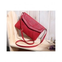 Cucoon PU Handbag For Women Red