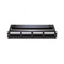 D-Link 24-Port Patch Panel Cat 6 Black (NPPC61BLK241)