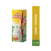 Dairy Omung Milk 1.5Ltr Pack Of 8