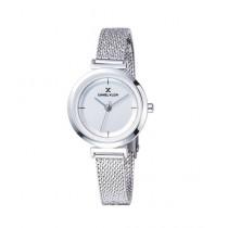 Daniel Klein Fiord Stainless Steel Watch For Women Silver (DK 11899-1)