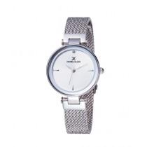 Daniel Klein Premium Stainless Steel Watch For Women Silver (DK 11903-1)