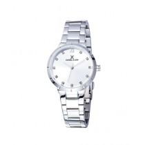 Daniel Klein Premium Stainless Steel Watch For Women Silver (DK 11905-1)