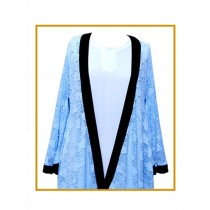 Dar ul Libaas Classic Collection Silk & Chiffon Abaya (DLB42)