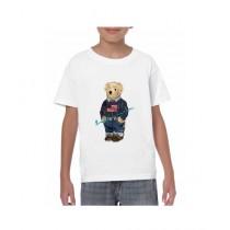 De Shadez Digital Printed T-Shirt For Boys White