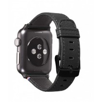 Decoded Leather Strap For Apple iWatch 38mm (D5AW38SP1BK)