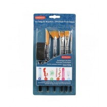 Derwent Technique Brush Set Of 6
