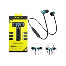 Dfashionebay Magnetic Wireless Bluetooth Sport Earphone Black