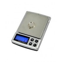 Digital Pocket Weigh Scale 2000gx0.1g Silver