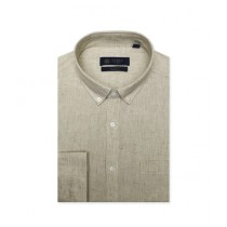 Diners Long Sleeves Casual Shirt For Men L-Fawn (AH20003)