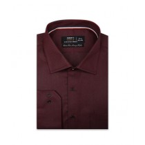Diners Long Sleeves Formal Shirt For Men Maroon (AD20279)