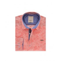 Diners Long Sleeves Casual Shirt For Men Peach (AG18547)