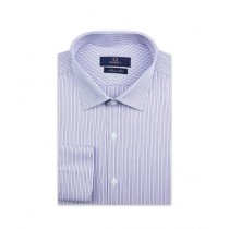 Diners Long Sleeves Formal Shirt For Men Purple (AH19334)