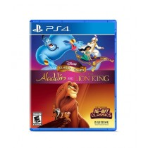 Disney Classic Games: Aladdin and The Lion King Game For PS4
