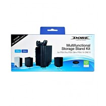 Dobe Multifunctional Storage Stand Kit With Controller Charger For PS4