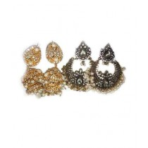 Bushra Collection Earrings Pair Of 2