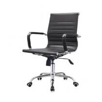 Eager Enterprise Low Back Swivel Rotary Modern Office Chair Black