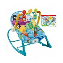 Easy Shop 2 in 1 Infant To Toddlers Rocker With Hanging Toys (0595)