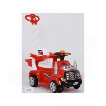 Easy Shop 2 in 1 Mini Stroller And Pushing Musical Car
