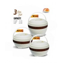 Easy Shop 3 Different Sizes Casserole Hotpot Pack Of 3