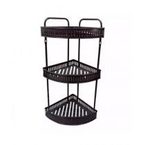 Easy Shop 3 Layer Metal Corner Rack For Washroom