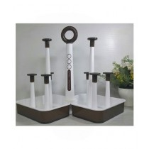 Easy Shop 8 Slots Glass Stand (0685)