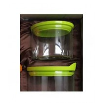 Easy Shop Airtight Jars Pack Of 6 Green