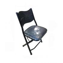 Easy Shop Coated Foam Mattress Folding Chair Black (0427)