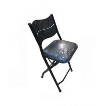 Easy Shop Coated Foam Mattress Folding Chair Black