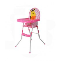Easy Shop Fold-Able Chair For Babies Pink (0607)