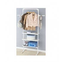 Easy Shop Multipurpose Rack And Cloth Stand