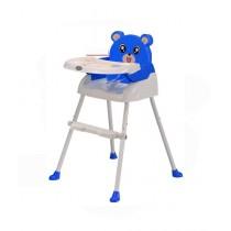 Easy Shop Panda High Chair For Babies Blue
