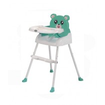 Easy Shop Panda High Chair For Babies Green
