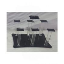Easy Shop Rectangular Acrylic Glass Stand (0687)