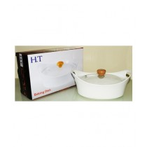 Easy Shop Serving Dish With Glass Lid (0631)