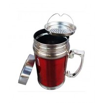 Easy Shop Stainless Steel Coffee Mug With Stainer